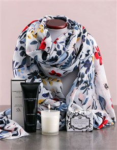 gifts: Scarf With Charlotte Rhys Hamper!