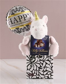 gifts: Unicorn In Box With Balloon!