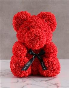 gifts: Foam Red Rose Teddy!