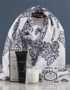 gifts: Paisley Scarf and Charlotte Rhys Gift!