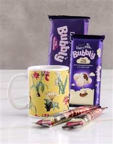gifts: Freesia Mug Hamper!