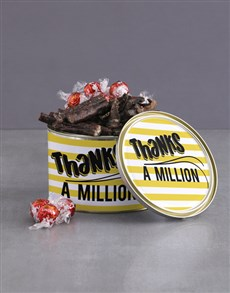 gifts: Thanks A Million Biltong And Lindt Tin!