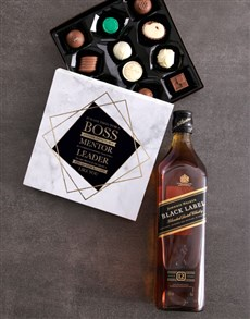 gifts: Mentor and Leader Alcohol Truffle Box!