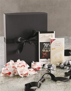 gifts: Luxurious White And Black Chocolate Box!
