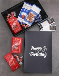 gifts: Birthday Lindt Chocolate Box!