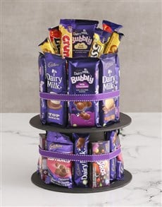 gifts: Cadbury Chocolate Tower!
