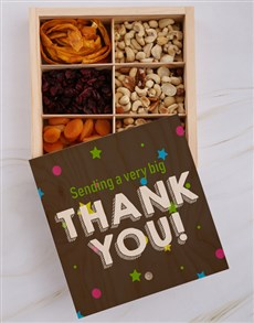 gifts: Thank You Fruit And Nuts Treasure Box!