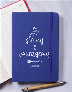 gifts: Be Srong And Courageous Journal!