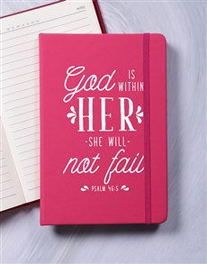 gifts: She Will Not Fail Journal!