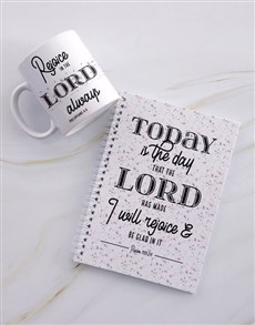 gifts: Rejoice In The Lord Notebook Set!