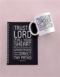 gifts: Trust In The Lord Notebook Set!