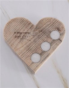gifts: In Loving Memory Heart Candle Holder!