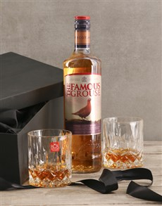 gifts: The Famous Grouse Gift Set!
