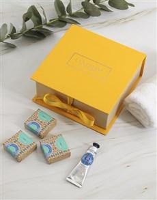 gifts: Loccitane Shea Beauty Essentials Gift!