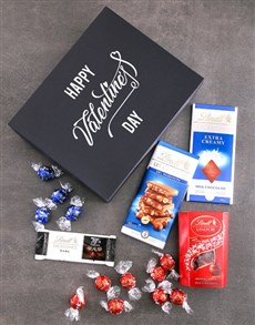 gifts: Happy Valentines Day Lindt Box!