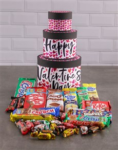 gifts: Valentines Day Chocolate Hat Box Tower!