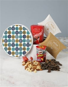gifts: Swirly Snack Tin!