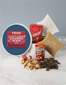 gifts: Emergency Snack Tin!