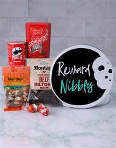 gifts: Snack Tin of Reward Nibbles!