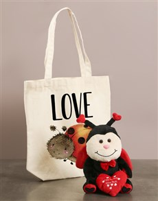 gifts: Ladybug Love Bug And Tote Bag!