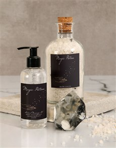 gifts: Magic Potion Massage Oil Set!