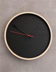 gifts: Black Native Décor Clock!