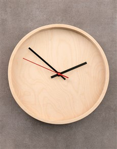 gifts: Natural Native Décor Clock!