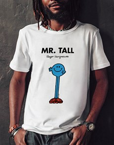 gifts: Mister Tall T Shirt!