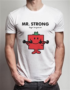 gifts: Mister Strong T Shirt!