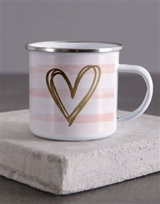 gifts: Happy Valentines Day Camper Mug!