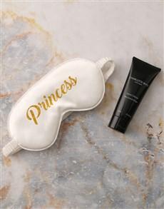 gifts: White Princess Eye Mask Hamper!