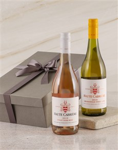 gifts: Haute Cabriere Pinot Noir Duo Gift Box!