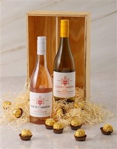 gifts: Haute Cabriere and Ferrero Rocher Gift Box!