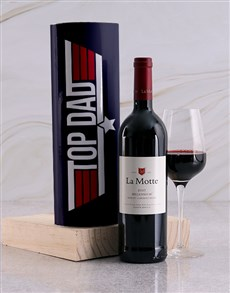 gifts: Top Dad La Motte Wine Tube!