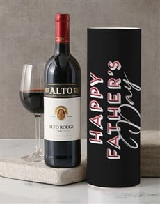 gifts: Fathers Day Alto Rouge Wine Tube!
