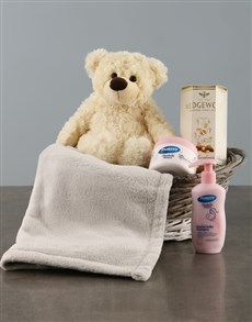 gifts: New Baby Welcome Basket!