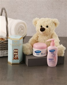 gifts: Welcome Basket for Baby and Mommy!