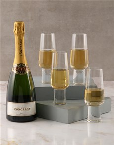 gifts: Carrol Boyes Aura Champagne Flute Set!