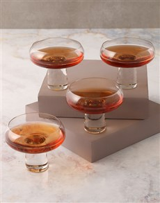 gifts: Carrol Boyes Aura Coupe Glass Set!