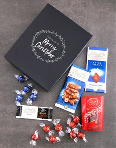 gifts: Festive Lindt Chocolate Box!
