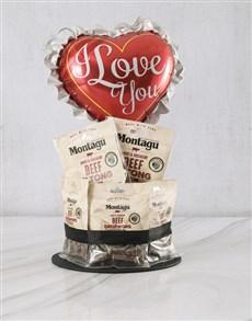 gifts: Love You Biltong Cake!