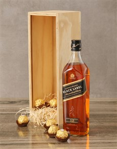 gifts: Johnnie Walker Black Label Crate!