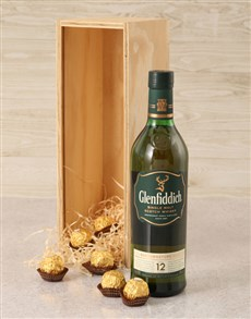 gifts: Glenfiddich Twelve Year Crate!