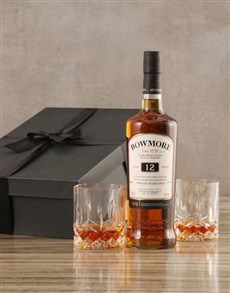 gifts: Bowmore Twelve Year Whisky Set!