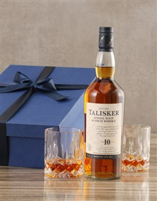 gifts: Talisker Ten Year Whisky Set!