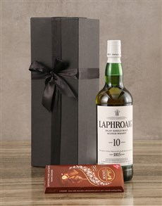 gifts: Laphroaig Ten Year Malt Gift Set!
