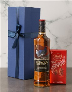 gifts: The Black Grouse Scotch Whiskey Set!