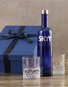 gifts: SKYY Vodka Set!