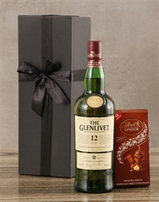 gifts: Glenlivet Twelve Year Scotch Whisky Set!