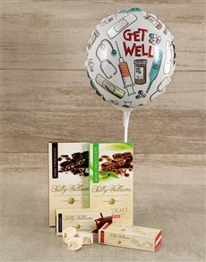 flowers: Get Well Choc Nougat Gift!